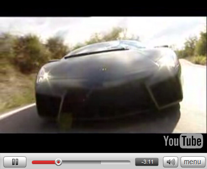 Vidéo Lamborghini Reventón: l'essai...(+photos bonus)