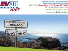 Salon EVER Monaco 2007 : les autos écolos au rendez-vous !