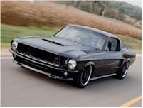 Mustang 1967 black style...