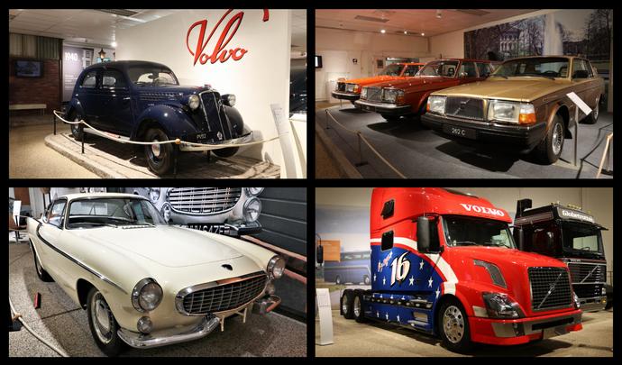 Road-trip en Suède - Visite du musée Volvo à Göteborg (vidéo)