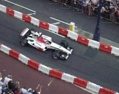 Des F1 dans les rues de Londres