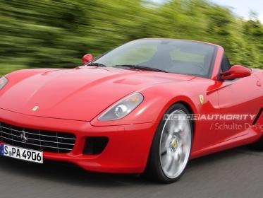La Ferrari 599 Roadster a été présentée devant quelques privilégiés