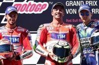 MotoGP - Autriche : première de Iannone et Mir, cinquième de Zarco !