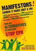 Manifestations contre le projet d'EPR à Flamanville