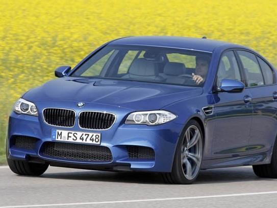 Future BMW M550dXDrive: une M5 diesel!