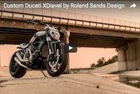 Vidéo: Ducati XDiavel à la sauce Roland Sands