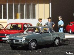 1/43ème - ABARTH 2400 coupé Allemano
