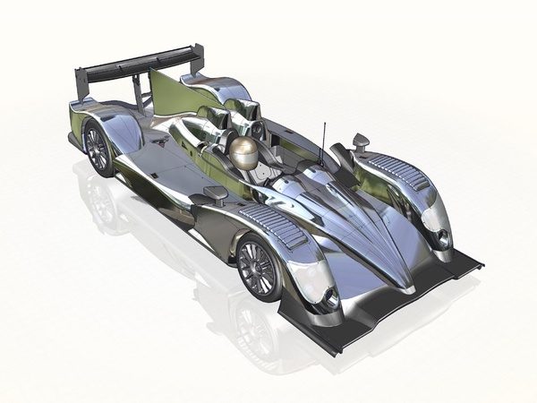 Voici la nouvelle Oreca 03 destinée au LMP2 2011!
