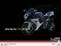 Suzuki GSX-R 600 et GSX-R 750 2011, les deux font la paire [vidéos]