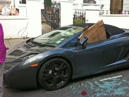 Lamborghini Gallardo Spider : les émeutiers anglais l'ont (presque) épargné