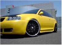 Audi S3, secouez sinon la pulpe elle reste en bas!!!