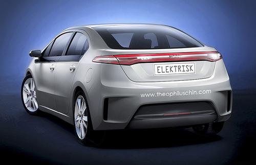 Saab Elektrisk : vue de l'esprit suédois