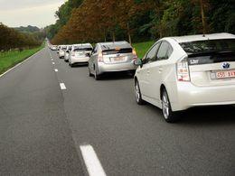 Toyota Belgique a décroché le record du monde de la plus grande parade de véhicules hybrides !