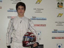 Volant Euroformula 2012 : Enzo Guibbert  remporte les 60.000€