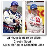 Colin McRae rejoint Sébastien Loeb chez Citroën Sport