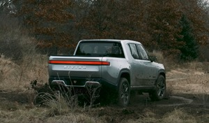 Plus cool que le Tesla Cybertruck, le Rivian Tank Turn