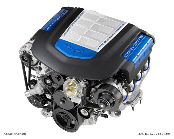 La fuite du jour: le V8 Supercharged de la Corvette ZR1 (si c'est son nom)