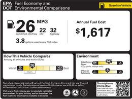 Les véhicules américains bientôt étiquetés selon leurs performances environnementales
