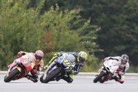 MotoGP - République Tchèque, Course : Rossi du désespoir au bonheur