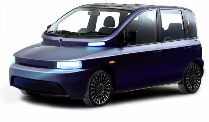 Le premier Fiat Multipla moderne repensé de manière futuriste
