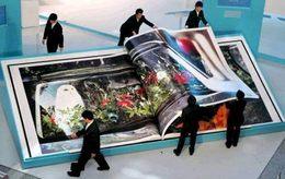 Mazda conçoit un livre géant pour promouvoir la Verisa