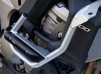 Top Block : protection et support de plaque pour Kawasaki Versys 1000 (2012)