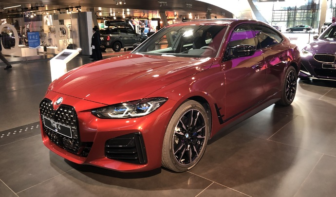 BMW Serie 4 Gran Coupé (2021) : l'élégance familiale - En direct du Salon de Munich 2021