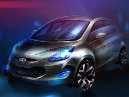 Mondial de Paris 2010 : le Hyundai ix20 en première mondiale