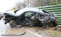 Une Audi R8 au tas… RIP !
