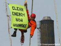 Belgique : Greenpeace perquisitionné suite à une action anti-nucléaire