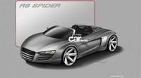 Salon de Detroit : Audi R8 V10 Spider Concept ? (MAJ)