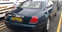La future Rolls-Royce Ghost surprise en pleine rue