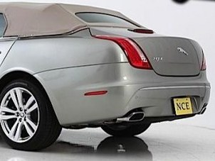 Transformation du jour - Une Jaguar XJ découverte