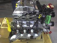 Future Corvette Blue Devil : le moteur