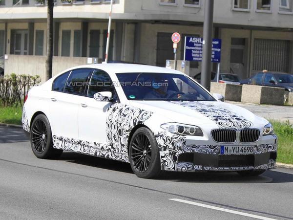 Spyshot : prochaine BMW M5, plus qu'une question de semaines