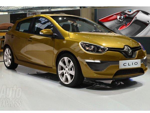 Voici la Renault Clio IV. Enfin, peut-être ...