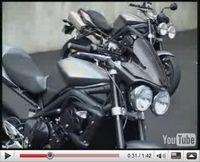 Vidéo Moto : Triumph, la gamme roadster et sportive 2009