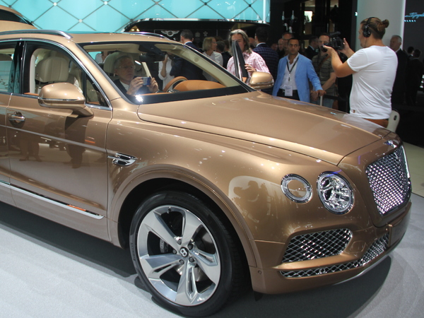 Bentley Bentayga : une version plus puissante à venir ?