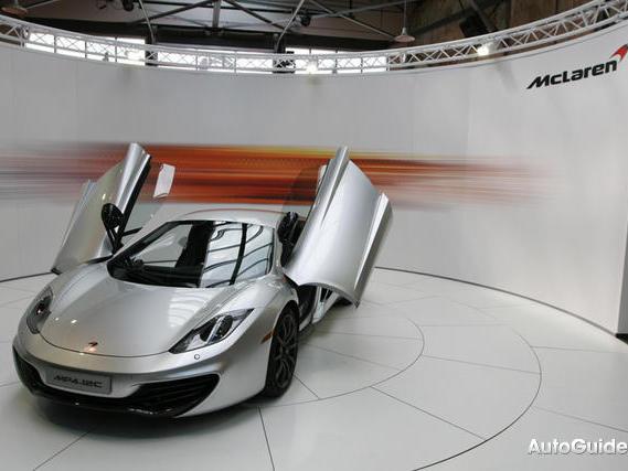 McLaren : cinq nouveaux modèles en cinq ans ?