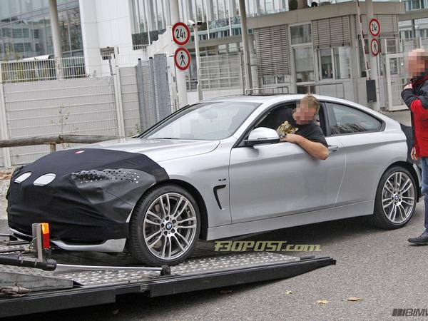 В Сети опубликовали шпионские фотографии купе BMW 3-Series нового
