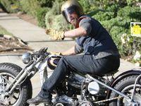 Les motos de Brad Pitt