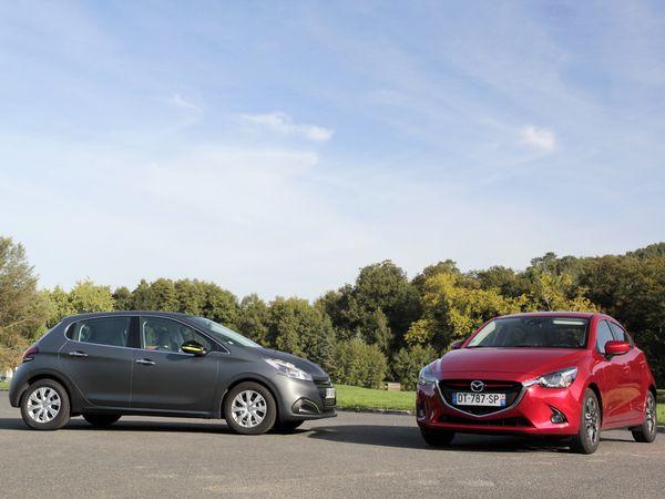 Comparatif vidéo - Peugeot 208 restylée vs Mazda 2 : le putsch japonais