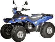 Kymco 150CC : un 4 roues en section moto