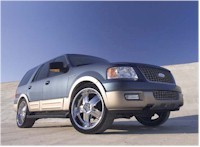 Un Ford Expedition a l'habitacle hallucinant..