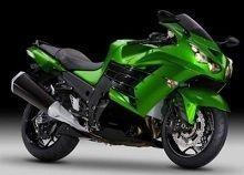 Actualité moto - Kawasaki: La ZZR 1400 fait craquer les Américains