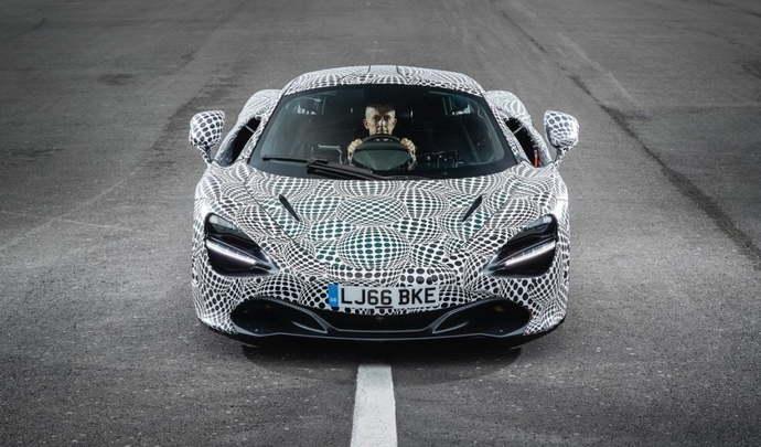 McLaren parle d'avenir et d'électrification
