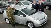 L'armée britannique roulera en Prius !