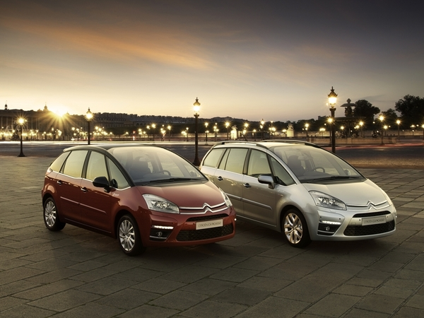 Mondial 2010 : Citroën C4 Picasso restylé : l'officiel