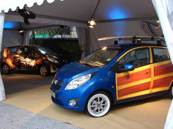 Mondial auto : les Art Spark, vous avez dit délire !