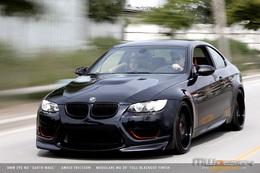 BMW M3 Dark Maul : pas molle